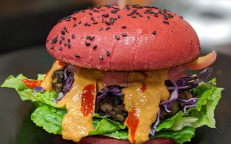 Black Bean Cheeseburger