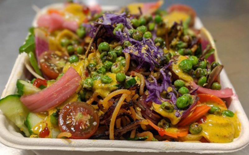 O.T.'s Crispy Indian Noodles